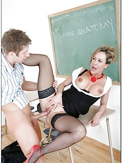 Hot Milf Teacher Porn