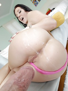 Huge Ass Cumshot