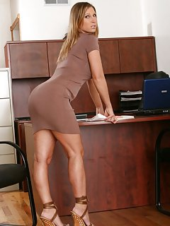 Sexy Mature in Office Pictures
